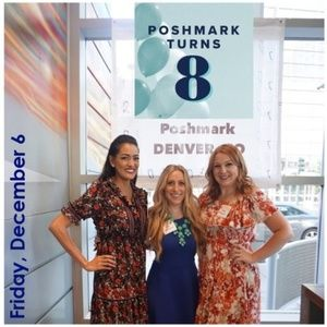 THANK YOU FOR COMING!!! Poshmark 8th BDay Denver